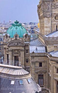 View over Opéra Garnier, Paris