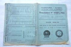 ENGLEBERT CHAINES ANTIDERAPANTES HIVER Pour la Neige & la Boue 1938-39 réf 01 | Collections, Objets publicitaires, Publicités papier | eBay!