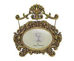 Cornice portafoto da parete con fregio Orleans - 25x27x2 cm