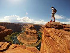 Photo of the Day! Hiking Arizona's famous Horseshoe Bend. Photo by Anton Tkachenko. #GoPro #GoProTravel #hiking