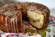 World's Tastiest Sour Cream Coffee Cake - from the amazing Barefoot Contessa. Okay, I've made this a few times and it really is wonderful.... yummm!