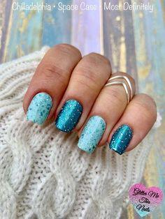Sparkle Nails, Fancy Nails, Pretty Nails, Nail Color Combos, Nail Colors, Pedicure Colors, Mani Pedi, Manicure, Vacation Nails