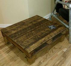 rustic coffee table by JCrepurposed on Etsy