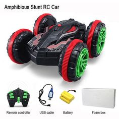 1:18 Nitro Rc Stunt Car Off road Buggy 2.4G 4wd Rc Drift Car Can Drive On Water Electric Remote Control Toy Model For Kids