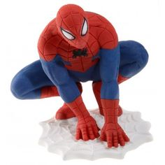 Figurine Spiderman 3D en sucre