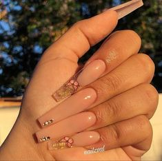 Bling Acrylic Nails, Simple Acrylic Nails, Best Acrylic Nails, Summer Acrylic Nails, Bling Nails, Swag Nails, Summer Nails, Coffen Nails, Edgy Nails