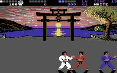 Commodore I LOVED this back in the day Karate Moves, Sega Master System, Van Damme, School Videos, Change Background, Single Player, Fighting Games, Great Videos, Entertainment System
