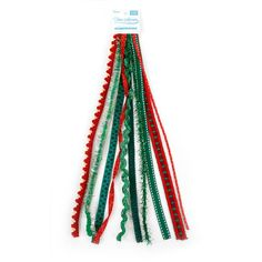 Bulk Buy: Darice DIY Crafts Fabric Trim Value Pack Red and Green Mix 10 feet (12-Pack) 2972-150 >>> You can find more details by visiting the image link.