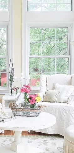 French Market | Farmhouse Living Room