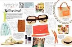 Dallas Shaw shares her tips for what to pack for a trip to Italy — or perhaps just a weekend at the beach. Signature Brandywine, June 2012.
