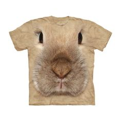 Bunny Face - Youth Tshirt by The Mountain on POP.COM.AU