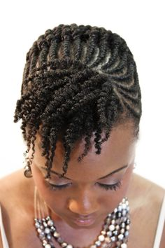Flat twists/two strand twists