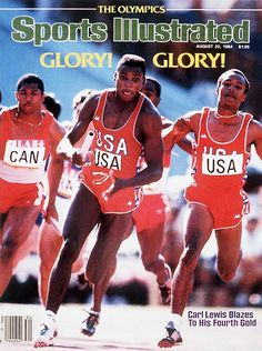 Winner of Four Gold, Carl Lewis at the 1984 Summer Olympics in Los Angeles. Not to forget, he was also drafted by the Dallas Cowboys and the Chicago Bulls in that year and never played for both teams.