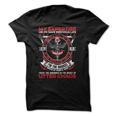 Combat Medic Utter Chaos T-Shirts & Hoodies Check more at https://teemom.com/lifestyle/combat-medic-utter-chaos.html