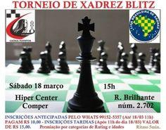 Esporte Ágil - Comper da Rua Brilhante recebe torneio blitz neste sábado