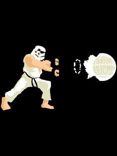 Haduken stormtrooper by BomDesignz