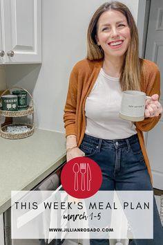 Weekly Meal Plan   Meal Planning   InstantPot Recipe   Air Fryer Recipe   Easy Dinner Ideas