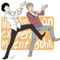 Haha, Thrillerbatch/Sherlock crossover. :P