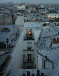 bruwho: Style pics in 2020 Paris At Night, Paris Torre Eiffel, Paris Rooftops, Montmartre Paris, Paris Paris, Grande Hotel, Blue Aesthetic, Paris France, Parisian