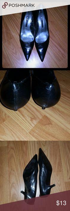 Nine West heels 1 inch pointy toe nine west heels  Very nice Nine West Shoes Heels