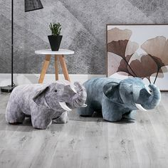 The Friendly Elephant Stool brings whimsical seating to your favorite spaces. Shop the Apollo Box for trendy stools for kids and adults. Apollo Box, Storage Stool, Modern Stools, Stool Chair, Sofa Furniture, Foot Rest, Nursery Rhymes, Cool Gifts, Dinosaur Stuffed Animal