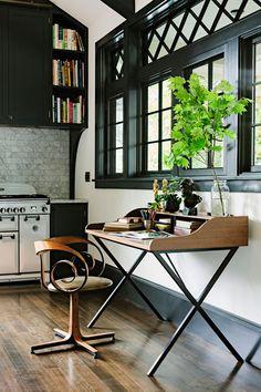 espacios: cocina   biblioteca