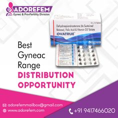 Adorefem Is top Gynaecology and Infertility Medicines company in India. We provide the high quality gynae and women Infertility medicines & drugs. Folic Acid, Business Opportunities, Fertility, Drugs, Medicine, Range, India, Number, Phone