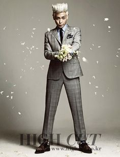 Big Bang TOP High Cut magazine