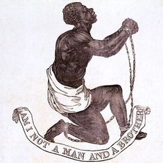 Official medallion of the British Anti-Slavery Society, c. 1787