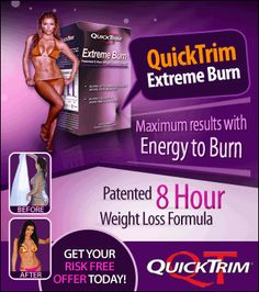 The international exclusive on the popular weight loss pill Quick Trim that has been endorsed by the Kardashian girls and featured on a number of media outlets and magazines. Quick Trim is a patented formula that burns calories 3x's Faster! http://track.markethealth.com/SH99L
