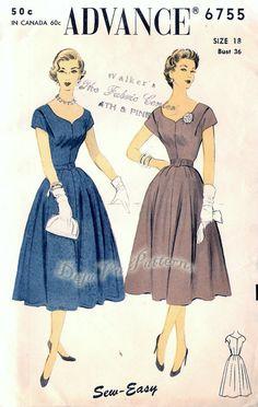 De Colección Chaqueta de vestir 50s Patrón De Costura Vogue Paris Original Lanvin Castillo B34