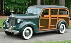 1938 Dodge Westchester Woodie Suburban Vintage Classics, My Dad, Used Cars, Antique Cars, Classic Cars, Woody, Vehicles, Dodge, Wheels