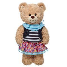 Build a Bear Honey Girl Pailletten Schuhe Teddys