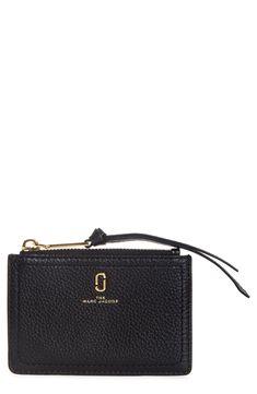 Women's The Marc Jacobs Snapshot Leather Zip Wallet - Yellow Marc Jacobs Wallet, Marc Jacobs Handbag, Nordstrom Beauty, Prom Looks, Zip Wallet, Men Looks, Looking For Women, Leather Wallet, Compact