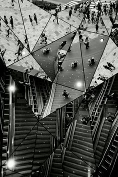 """""""The young man stepped into the hall of mirrors / Where he discovered a reflection of himself"""" - KRAFTWERK - (Stunning shot by Kouji Tomihisa)"""