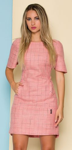 Cute Work Outfits, Cute Casual Outfits, Casual Dresses, Fashion Dresses, Dresses For Work, Dress Skirt, Dress Up, Capes For Women, Fit N Flare Dress