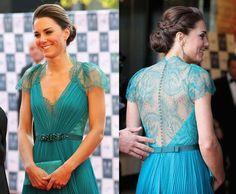 Kate Middleton - vestido lindo