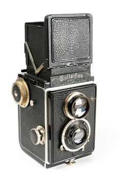 Rolleiflex - made by the German company Franke & Heidecke