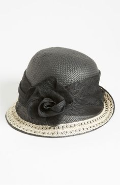 Nordstrom Woven Straw Cloche available at #Nordstrom