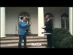 Barack Obama and Lin Manuel Miranda White House Freestyle Rap - YouTube