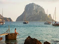 The quieter side of Ibiza, Spain European Summer, Italian Summer, Places To Travel, Places To See, Travel Destinations, Couple Travel, Stephen Shore, Wanderlust, Le Havre