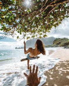 Tropical Beaches In California Beach Pink, The Beach, Big Island Hawaii, Island Beach, Small Island, Beach Photography, Travel Photography, Photography Training, Romantic Beach Photos