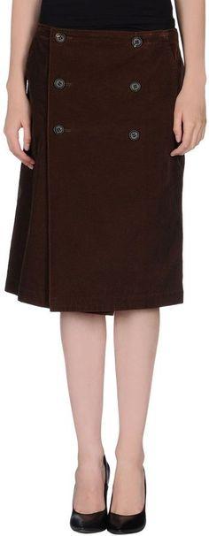 Y'S YOHJI YAMAMOTO Knee length skirts