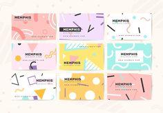 46 Ideas Business Cars Design Inspiration Templates Ideas For 2019 Name Card Design, Banner Design, Business Card Mock Up, Business Card Design, Web Design Tutorial, Pattern Design, Design Mignon, Powerpoint Design Templates, Envelope Design