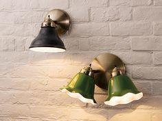 FLYMEe Factory ART WORK STUDIO CUSTOM SERIES 2 Classic Wall Lamp × Mini Trap Enamel / フライミーファクトリー アートワークスタジオ カスタムシリーズ 2灯クラシックウォールランプ × ミニエナメル(トラップ)_3