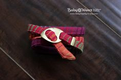 Love this handmade woven bracelet!  Looks so comfortable with a perfect pop of color. Triple Wrap Woven Bracelet is made from a Girasol #26 Wrap Scrap.