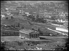 Old Pictures, Old Photos, Acropolis, Athens Greece, Back In Time, Old City, Ancient Greek, Historical Photos, Time Travel