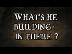 Whats he building in there ? (Tom Waits) - YouTube