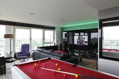 bachelor pad penthouse London by qmcdesign
