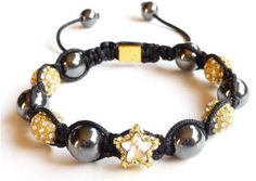 Shamballa Bracelet Annapurna Star  The Perfect Christmas Present for him. Don't forget we deliver ANYWHERE in the World.  WWW.SWISSCOJEWELL...